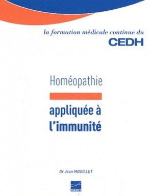 Homéopathie appliquée à l'immunité - cedh - 9782915668599 -