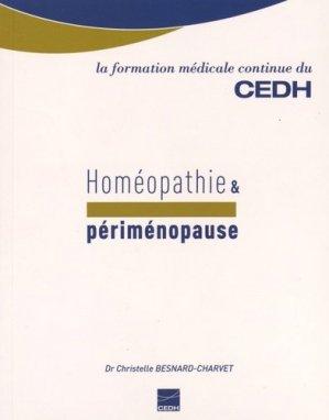 Homéopathie et périménopause - cedh - 9782915668698 -