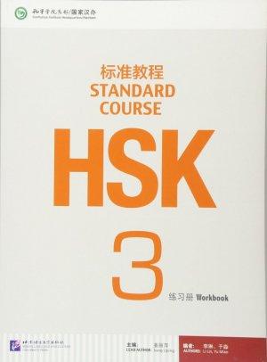 HSK Standard Course 3 - institut des langues beijing - 9787561938157 -
