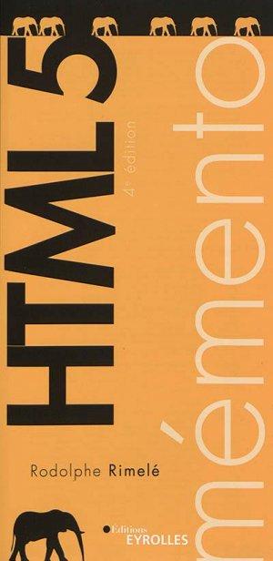 Html 5 - Eyrolles - 9782212678680 -