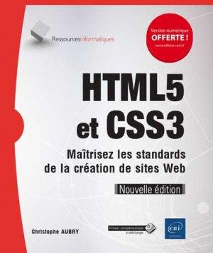 HTML5 et CSS3 - eni - 9782409017834 -