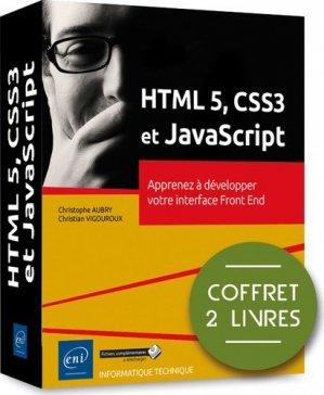HTML 5, CSS3 et JavaScript - eni - 9782409022869 -