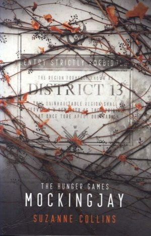 HUNGER GAMES TRILOGY Book 3 : Mockingjay - scholastic - 9781407188928