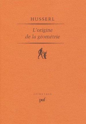 L'origine de la géométrie - puf - presses universitaires de france - 9782130579168 -