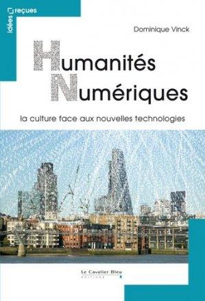 Humanités numériques - le cavalier bleu - 9782846708883 -