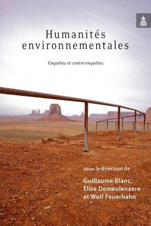 Humanités environnementales - publications de la sorbonne - 9782859449889 -