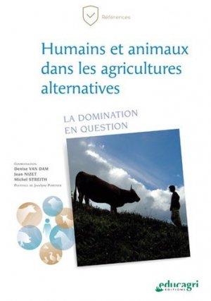 Humains et animaux dans les agricultures alternatives - Educagri - 9791027503551 -