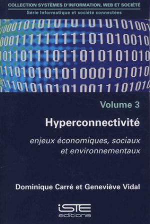 Hyperconnectivité volume 3 - iste - 9781784054229 -
