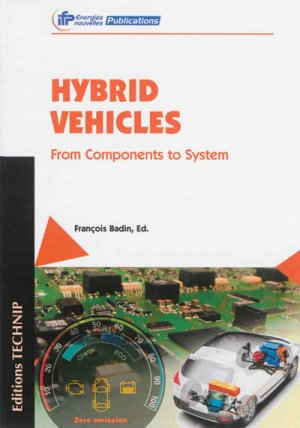 Hybrid vehicles / from components to system - technip - 9782710809944 -
