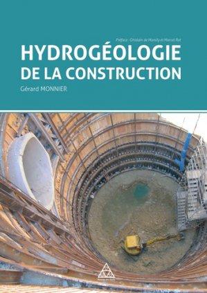 Hydrogéologie de la construction - presses de l'ecole nationale des ponts et chaussees - 9782859785246 -