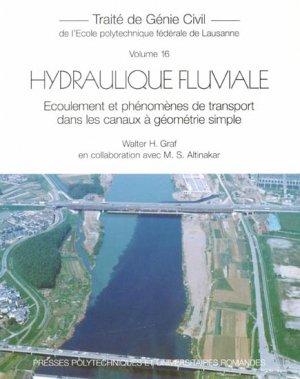 Hydraulique fluviale : écoulement et phénomènes de transport dans les canaux à géométrie simple - presses polytechniques et universitaires romandes - 9782880748128 -