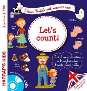 I learn english : Let's count ! - harrap's - 9782035916068