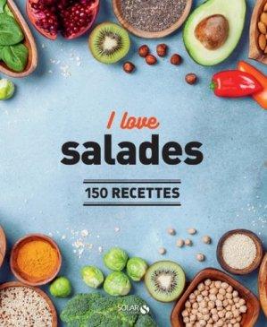 I love salades. 150 recettes - solar - 9782263161476 -