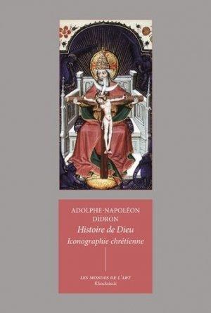 Iconographie chrétienne : histoire de Dieu - Klincksieck - 9782252045244 -