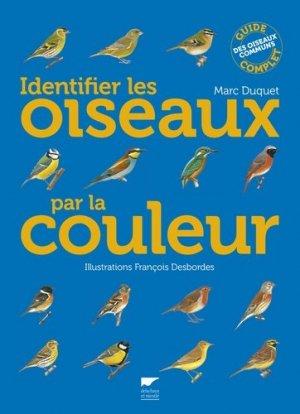 Identifier les oiseaux par la couleur - delachaux et niestle - 9782603019894 -