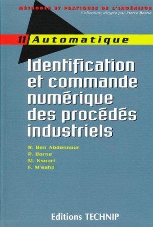 Identification et commande numérique des procédés industriels - technip - 9782710807988 -