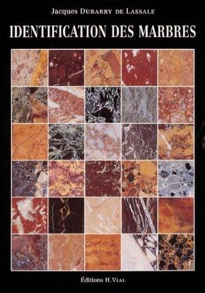 Identification des marbres - vial - 9782851010612 -