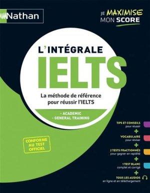 L'intégrale IELTS - nathan - 9782091673806 -