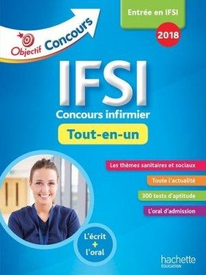 IFSI 2018 - Tout En Un - hachette - 9782017013563 -