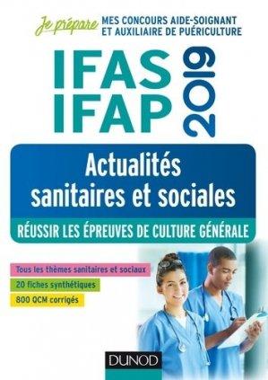 IFAS-IFAP 2019 - Actualités sanitaires et sociales - dunod - 9782100789245 -