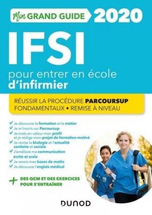 IFSI 2020 mon grand guide pour entrer en école d'infirmier - dunod - 9782100806751 -