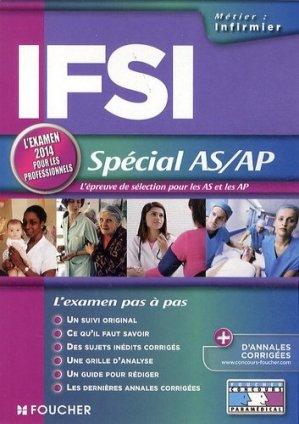 IFSI - Spécial AS/AP - foucher - 9782216124244 -