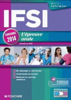 IFSI L'épreuve orale 2014 - foucher - 9782216124916 -