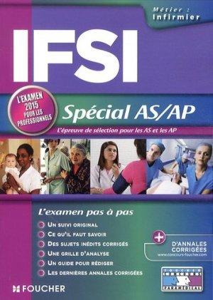 IFSI - Spécial AS/AP - foucher - 9782216128044 -