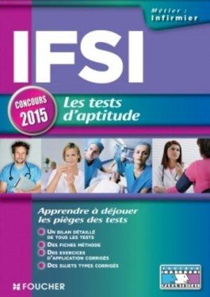 IFSI les tests d'aptitude - foucher - 9782216128082 -
