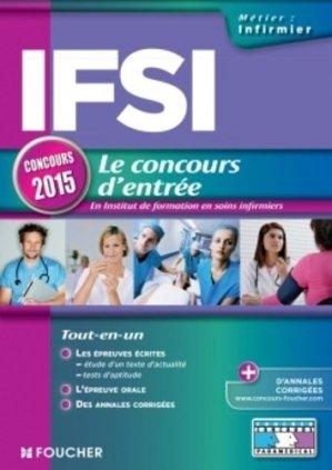 IFSI - Le concours d'entrée - foucher - 9782216128105