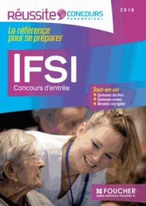 IFSI - Concours d'entrée 2016 - foucher - 9782216129157 -