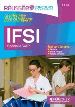 IFSI Spécial AS/AP - Examen 2016 - foucher - 9782216129195 -