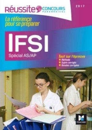 IFSI Spécial AS/AP - Examen 2017 - foucher - 9782216133901 -