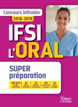 IFSI l'oral - vuibert - 9782311205923