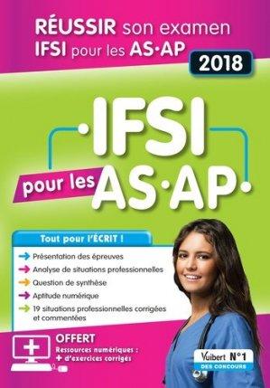 IFSI pour les AS-AP 2018 - vuibert - 9782311660265 -