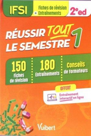 IFSI - Réussir tout le semestre 1 - estem / vuibert - 9782311660968