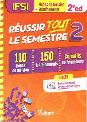 IFSI - Réussir tout le semestre 2 - estem / vuibert - 9782311660975 -