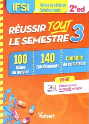 IFSI - Réussir tout le semestre 3 - estem / vuibert - 9782311661248 -