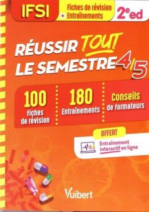 IFSI - Réussir tout le semestre 4 et 5 - estem / vuibert - 9782311661255 -