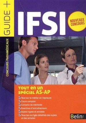 IFSI - Tout en un - Spécial AS-AP - belin - 9782701174969 -