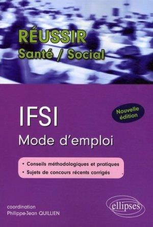 IFSI Mode d'emploi - ellipses - 9782729840624 -