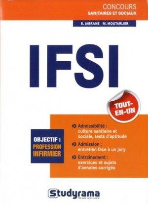 IFSI tout-en-un - studyrama - 9782759025688