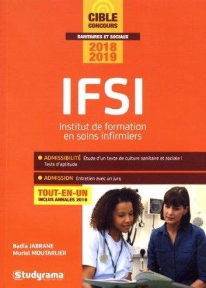 IFSI - Concours 2018-2019 - studyrama - 9782759037599 -