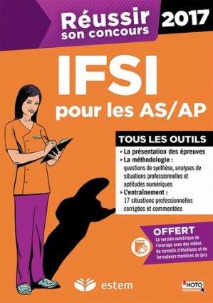 IFSI pour les AS-AP 2017 - estem / vuibert - 9782843718281 -