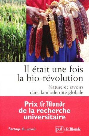 Il était une fois la bio-révolution - puf - 9782130581666