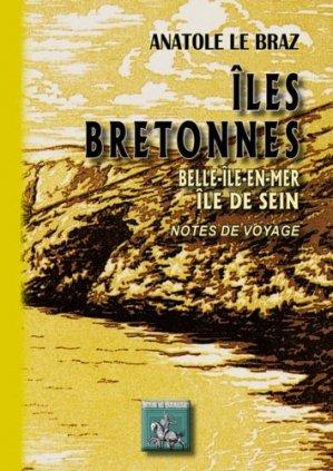 Iles bretonnes - des regionalismes - 9782824002910 -