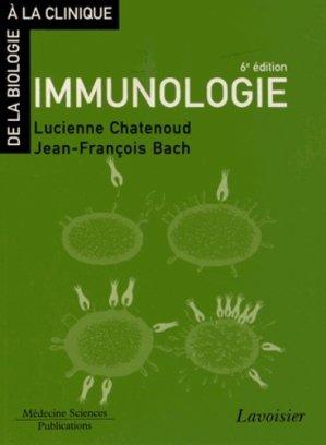 Immunologie - lavoisier msp - 9782257205292 -