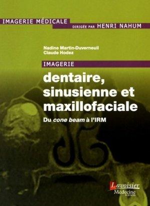 Imagerie dentaire, sinusienne et maxillofaciale - lavoisier msp - 9782257206824 -