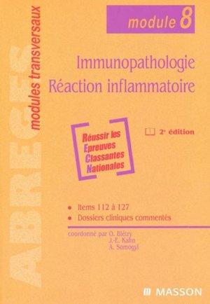 Immunopathologie Réaction inflammatoire - elsevier / masson - 9782294019524 -