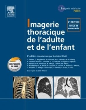 Imagerie thoracique - elsevier / masson - 9782294713217 -